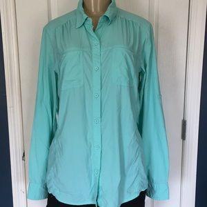 North Face women's lightweight shirt size L